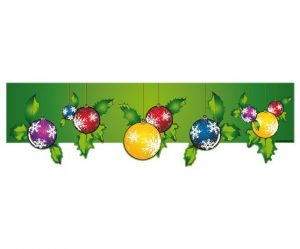 Stickers deco noel