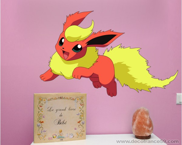 photo stickers muraux pokemon