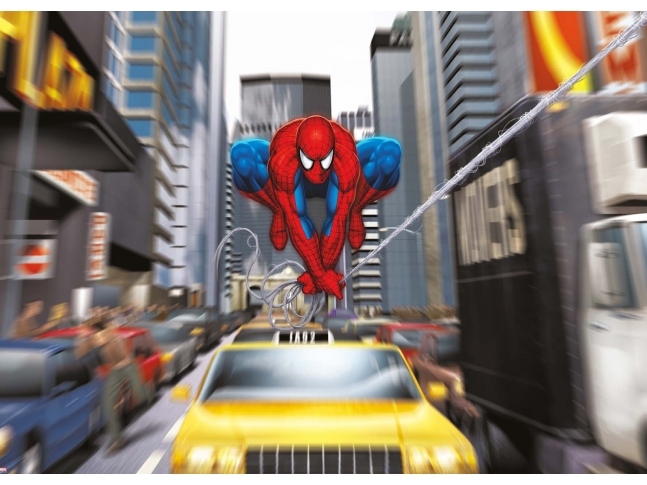photo stickers muraux spiderman xxl