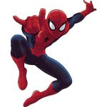 Stickers muraux spiderman xxl
