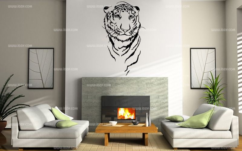 Stickers muraux tigre