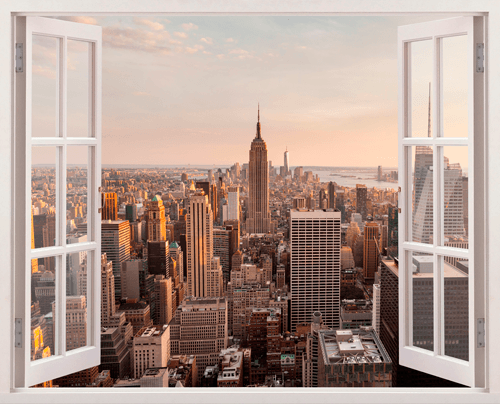 photo stickers muraux new york