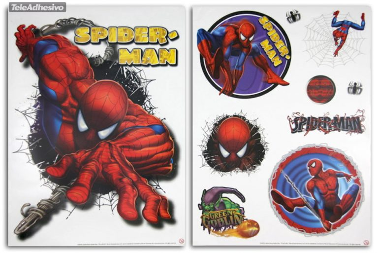 photo stickers muraux spiderman xxl