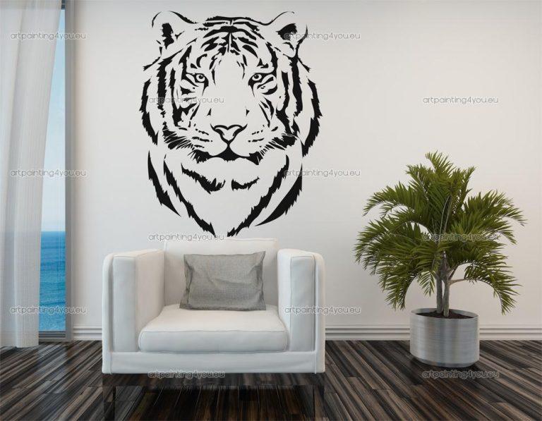 photo stickers muraux tigre